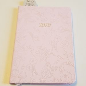 Brand new and never used 2020 weekly planner